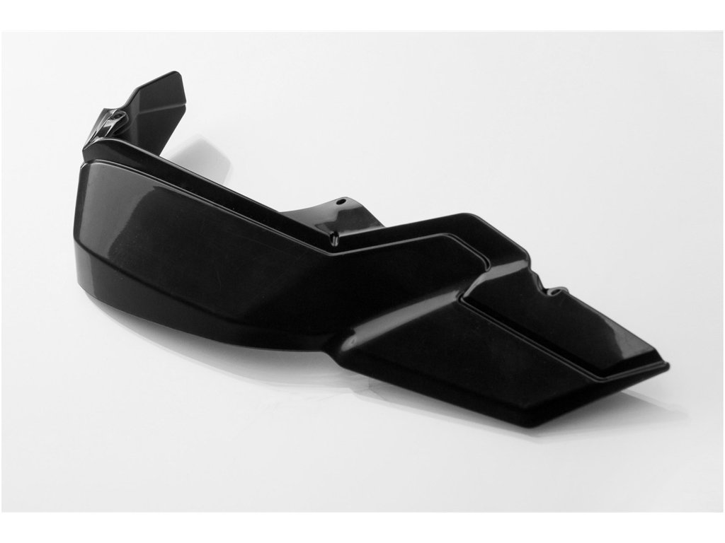 schwarz Kunststoff Erweiterung f/ür KOBRA Handprotektoren mit 50 /% zus/ätzlichem Schutz