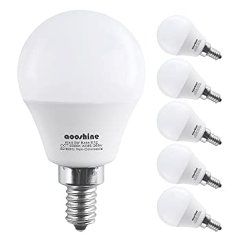 Review E12 LED Bulb 50