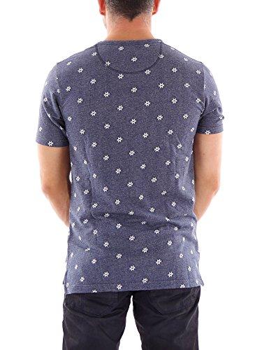 O'Neill T-Shirt Oberteil Freizeitshirt O'Riginals Minus blau Muster Gr.M 652300