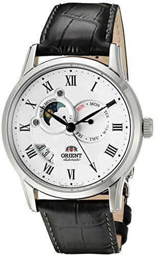 "Orient Classic""Sun and Moon"" Automatic White Dial Men"