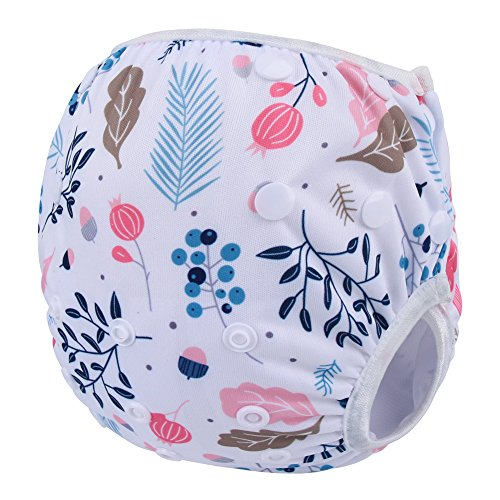 Storeofbaby Baby Stylish Washable Swim Diaper Reusable Leakproof Adjustable 0 3 Years