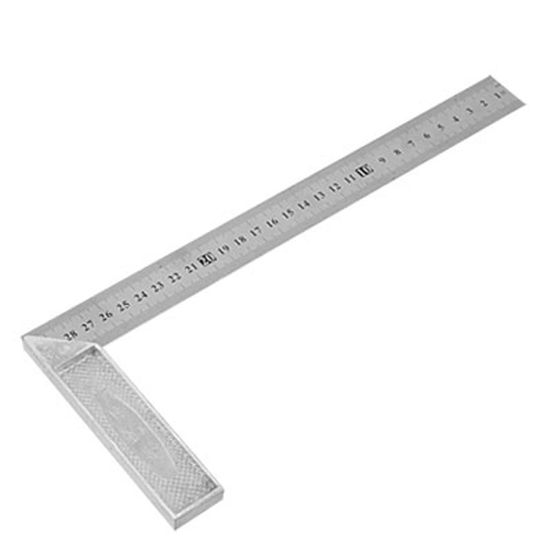 Uxcell Engineers Double Side Metric Ruler Try Miter Square Repair Parts 30cm