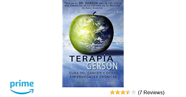 Amazon.com: Terapia Gerson DVD (Dying to Have Known Spanish Sub-titles): Movies & TV