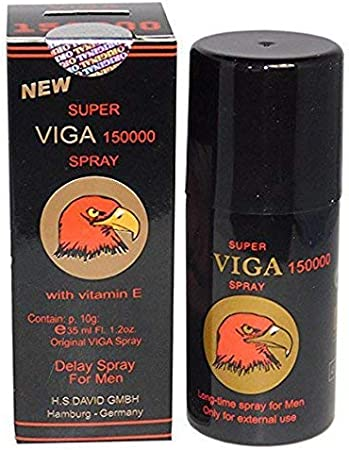 Amazon.com: SUPER VIGA 150000 DELAY Spray for Men Extra Strong with Vitamin  E Make Your Partner Real Happy Tonight.: Health & Personal Care