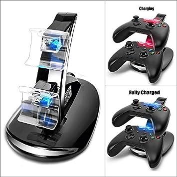 2win2buy - Cargador para Mando de Juegos Dual Compatible con Xbox OneUSB: Amazon.es: Electrónica