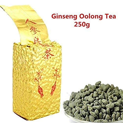 Promotion High Cost-Effective 250g (0.55LB) Ginseng Oolong Tea Fresh Natural Beauty Tea Chinese Oolong Tea Chinese Ginseng Tea, Wu Long Tea Green Food Oolong Tea Slimming Tea Green Tea