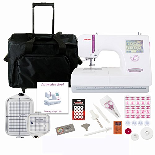 janome embroidery machine thread - 9