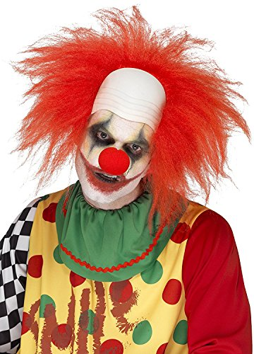e Clown Wig (one Size) (Deluxe Clown Wig)