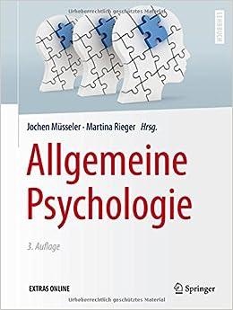 Book Allgemeine Psychologie