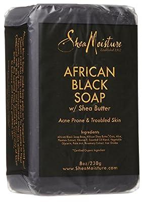Shea Moisture African Black Soap Bar Soap-8 oz