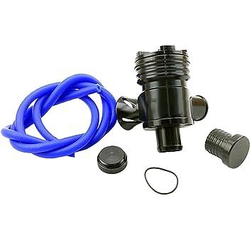Bov Universal Metálica para Volar Fuera de la Válvula de Descarga del Turbo Válvula BOV para Volkswagen VW: Amazon.es: Coche y moto