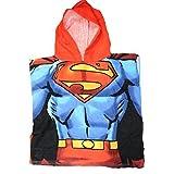 Superman DC Comics Boys Children's Hooded Bath Towel Poncho
