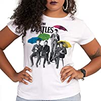 Camiseta The Beatles Umbrella Colors