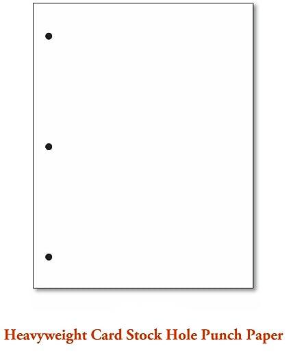 White Card Stock 80lb 220gsm Size 8 1 2 X 11