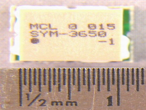 (6 Mini-Circuits SYM3650-1 Frequency Mixers SMT ICs )