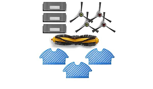 Zealing aspiradora recambios Accesorios Compatible con Ecovacs ...
