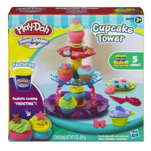 play dough cupcake tower - 1