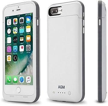 Carcasa Funda para Apple Iphone 7 Plus batería de reserva 7000 mAh Juice Pack Blanca: Amazon.es: Electrónica
