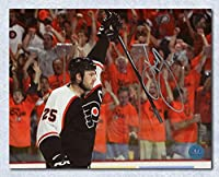 KEITH PRIMEAU Flyers SIGNED 8x10 Orange Crush Photo - Autographed NHL Photos