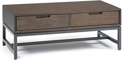 Simpli Home Banting Mid Century Coffee Table