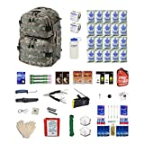 Combo Survival Kit Two For Earthquakes, Hurricanes, Floods, Tornados, Emergency Preparedness