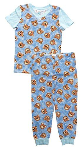 ort Sleeve Top & Pant Set 5 Teddy Bear ()
