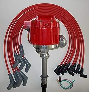 Amazon.com: RED BBC 396-427-454 SPARK PLUG WIRES 45's, Compatible With  CORVETTE TACH DRIVE HEI Distributor: Home ImprovementAmazon.com