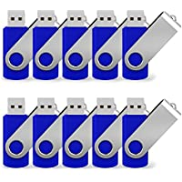 JUANWE 10 Pack 4GB USB Flash Drive USB 2.0 Thumb Drives...