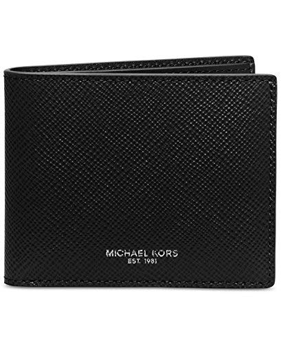 Michael Kors Warren Men's Leather Slim Billfold (Black)
