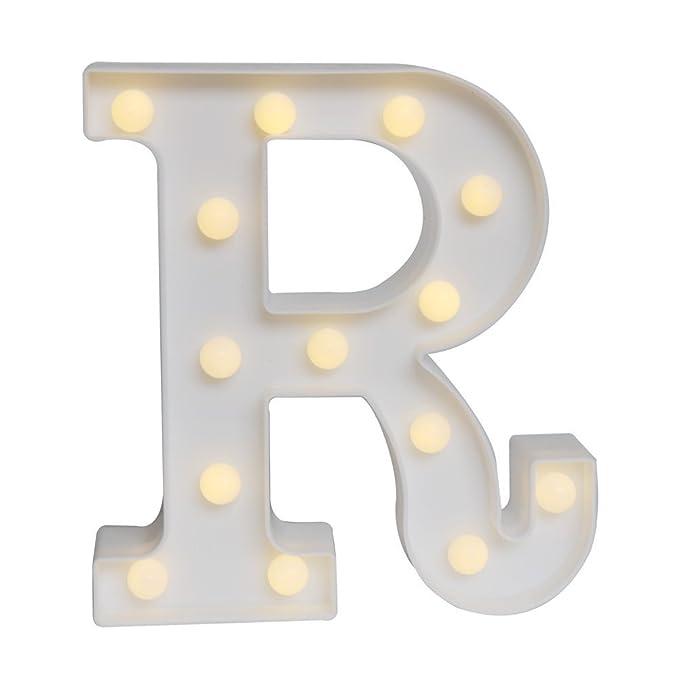 GB Unicornio pared letras luz en símbolo recargable Marquee ...