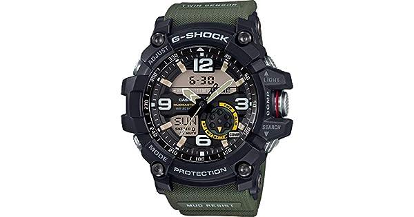 9df096a70 Casio Sport Watch Analog-Digital Display for Men GG-1000-1A3: Amazon.ae