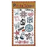 tattoos removable pirates - Meri Meri AHOY Pirate Tattoos
