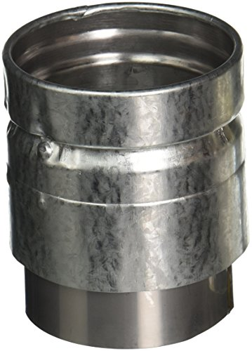 Galvanized Stove Pipe (SELKIRK CORP 243240 Pipe Connector, 3-Inch)