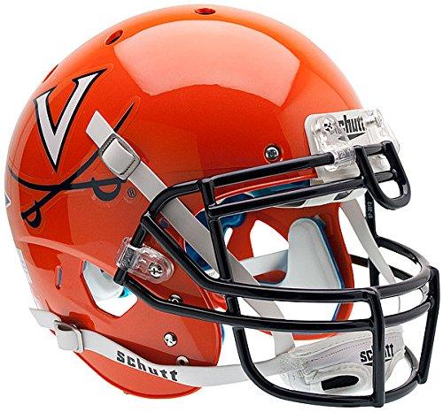 (Schutt Virginia Cavaliers Authentic College XP Football Helmet Orange - NCAA Licensed - Virginia Cavaliers Collectibles)