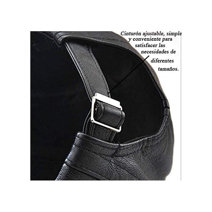 51RSeasGdYL Boinas Suave, cómodo y flexible; Conveniente para al al aire libre.Pliega para su almacenamiento En general, se trata de un casquillo de golf de peso ligero y elegante que es realmente grande para cualquier actividad o salidas PU(Poliuretano)