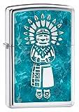 Zippo Indian High Polish Chrome Lighter