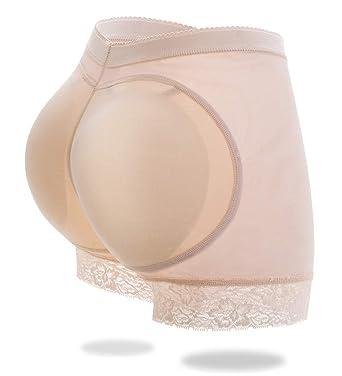 8757a30b8aac Women's Butt Lifter Shapewear Enhancer Padded Control Panties Boyshort Seamless  Briefs Fake Buttock Hip Lace Underwear