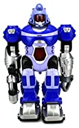VT Power Warrior Android Toy Robot Figure w/ Lights, Sounds, Realistic Walking Function (Colors May Vary)
