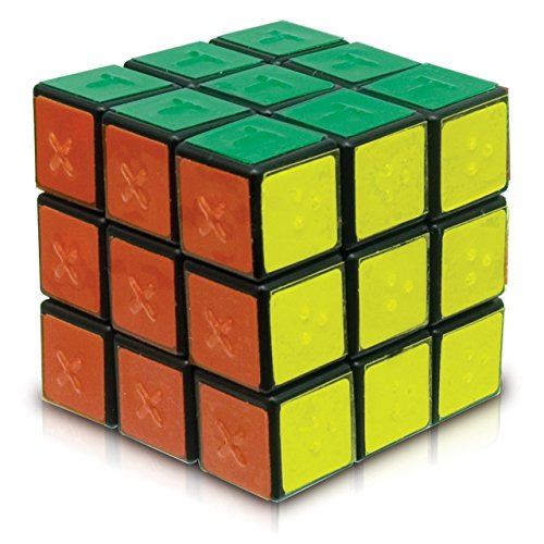 Tactile Puzzle Cube - Modified for the Blind (Tactile Cube)