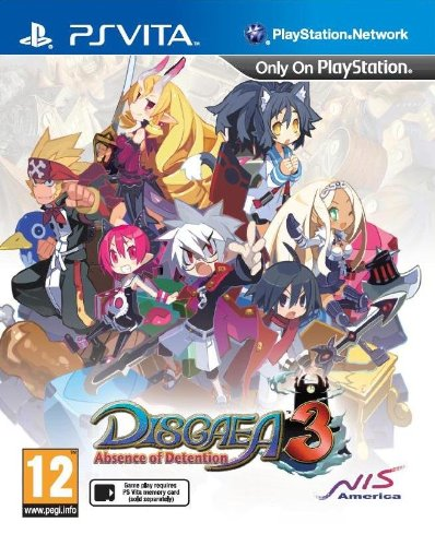 Disgaea 3: Absence of Detention (PS Vita) (UK) (UK Account required for online content)