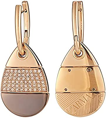 bdf5e5f7 EMPORIO ARMANI Women's Gold Drop & Dangle Earrings, Rose Gold ...