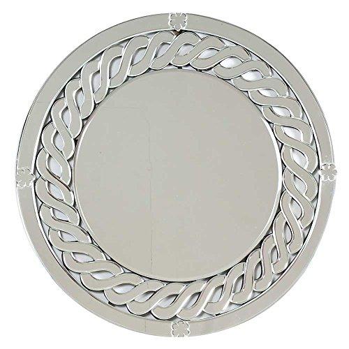 - Indian Shelf Handmade Decorative Round Double Glass Circle Venetian Mirror Online