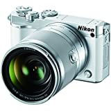 Nikon 1 J5 Mirrorless Digital Camera w/10-100mm Lens (White)