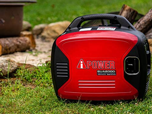 A-iPower SUA2000iV 2000 Watt Portable Inverter Generator Gas Powered, Small with Super Quiet Operation for Home, RV, or Emergency 51RSgtVcpkL