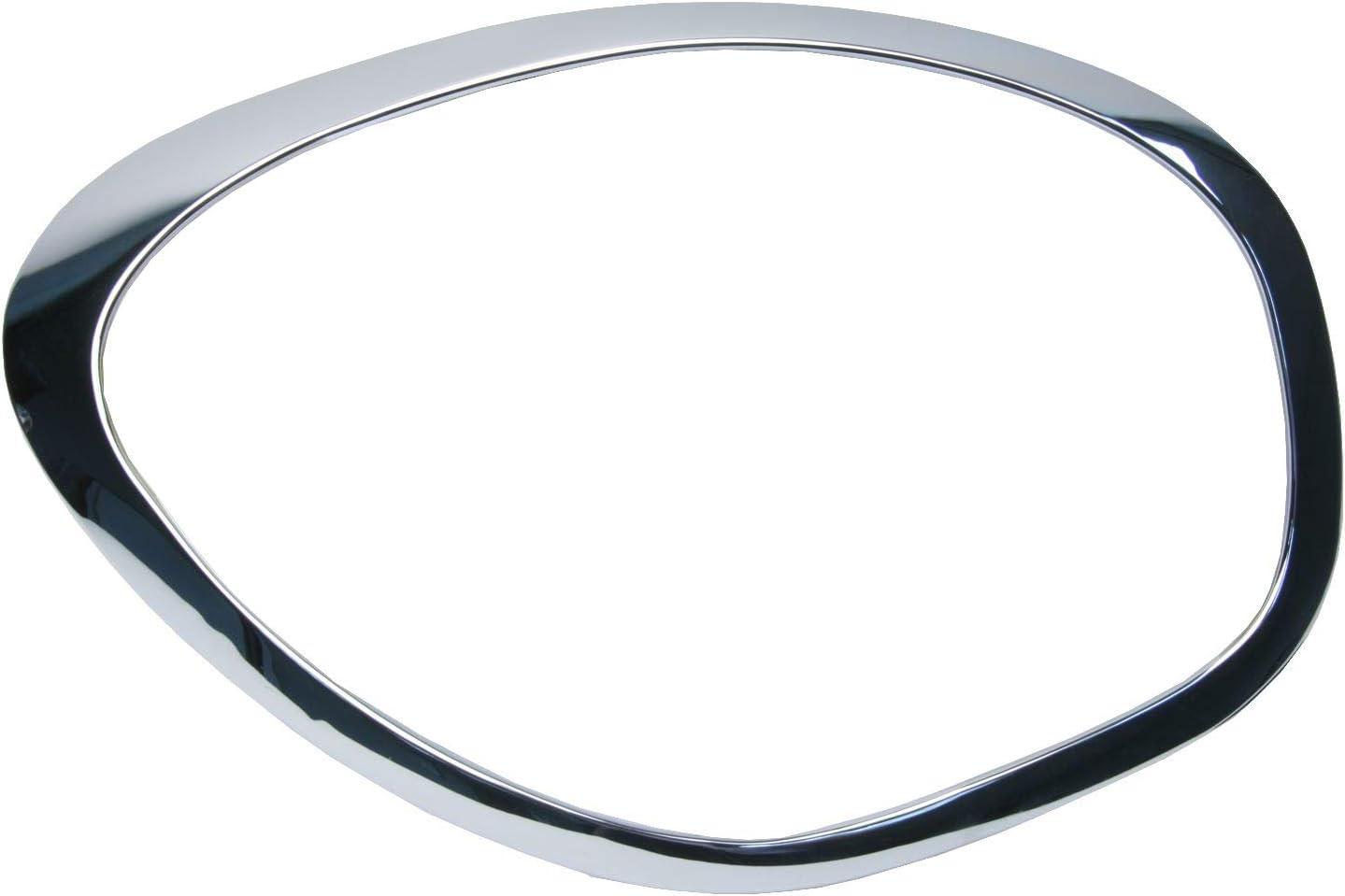 Chrome Left URO Parts 51139813823 Headlight Trim Ring
