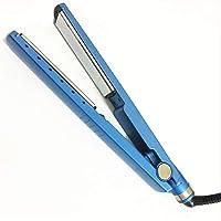 Professionell Nano-Titanium Hair Straighteners, 1/4 breda plattor Plattjärn med LED-temperaturinställningar Max 450 ° F…