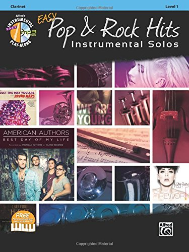 Easy Pop & Rock Hits Instrumental Solos: Clarinet, Book & CD (Easy Instrumental Solos Series) (Ash Sam Clarinet)