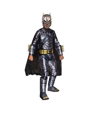 Amazon.com: Deluxe Armored Batman niño disfraz – pequeño ...