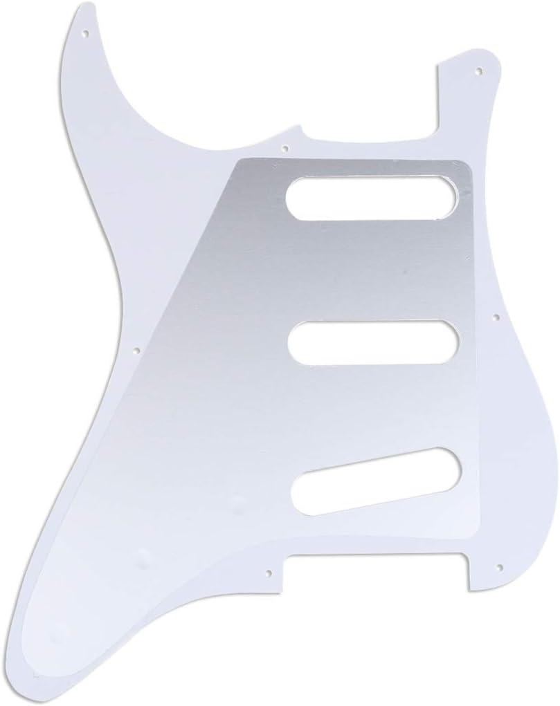 Musiclily Pro 8 Trous Strat Pickguard Guitare Plaque de Protection pour JPN Fender Japan Vintage Style Stratocaster 57,3plis Vert Menthe