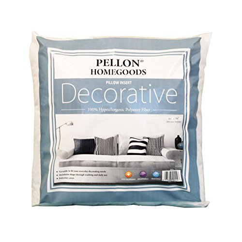 Pellon Home Goods Decorative Pillow Insert x 16in, White